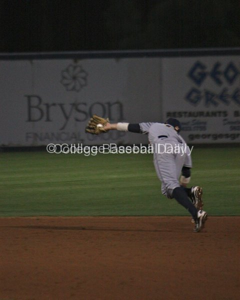Tony Renda has to make a diving catch on an infield popup.