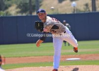 Aaron Brown had his first complete game.