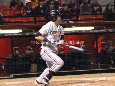 Michael Conforto singles to left field.