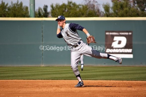 Tanner Chauncey makes a play.