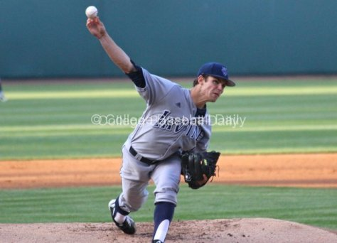 Mitch Merten started for UC Irvine.