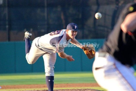 Jackson McClelland pitched two innings.