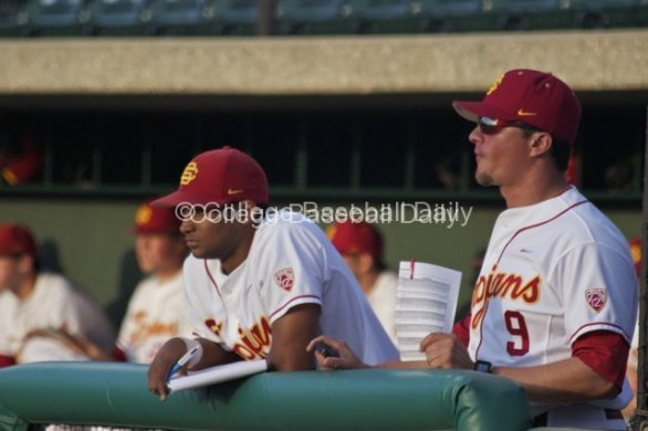 Omar Cotto Lozada stands beside coach Gabe Alvarez.