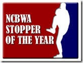 2013 NCBWA Stopper of the Year Award Finalists