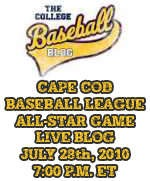 2010 Cape Cod Baseball League Live Blog