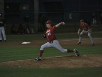 USC lefty reliever Brad Douthit.