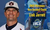 Link Jarrett named Head Coach at UNC-Greensboro