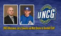 UNCG adds Jerry Edwards and Matt Boykin to Coaching Staff