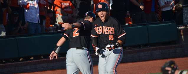 Beavers bash their way into Game 3 with 21 hits against Kansas State