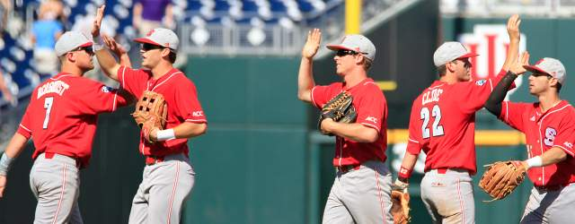 CBD Photo Gallery: 2013 CWS- NC State defeats North Carolina 8-1 in Pictures