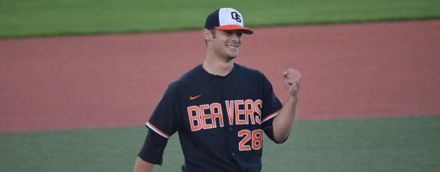 Wetzler's complete game, Hayes' bat send Oregon State to Corvallis Regional title