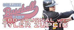 2014 CBD Journal with Appalachian State's Ty Zupcic (December 12th)