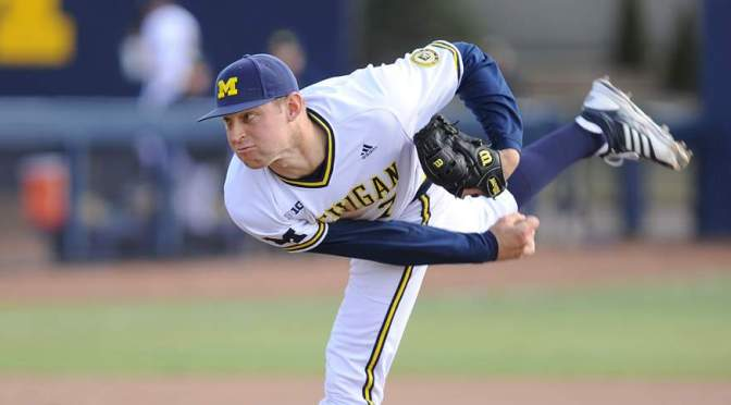 Michigan's Ben Ballantine making most of second chance