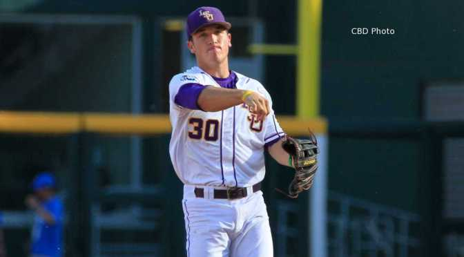 LSU's Alex Bregman shoulders the Leadership