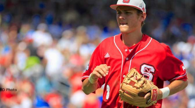 NC State's Trea Turner wins 2014 Brooks Wallace Shortstop of the Year Award