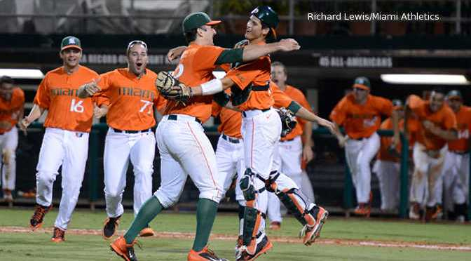 Final out of Miami's Javi Salas Perfect Game