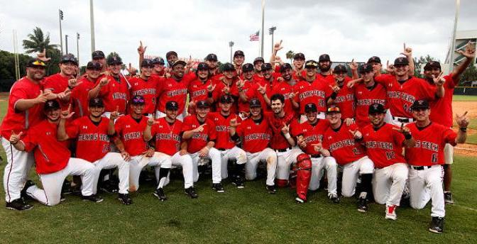 Texas Tech wins the Coral Gables Regional