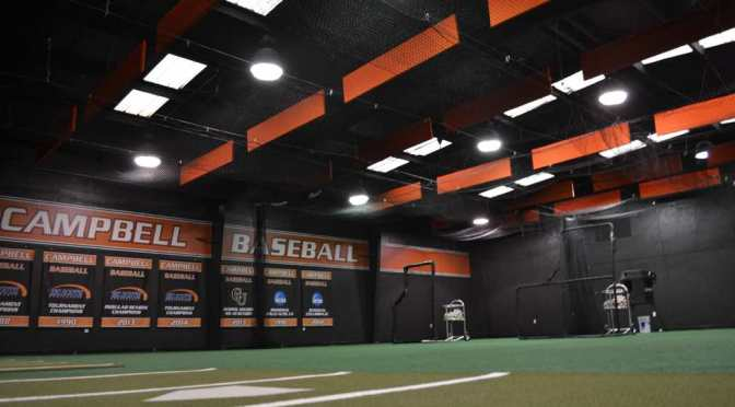 Campbell renovates Willard B. Harris Training Center