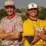 Temecula had produced numerous baseball stars, including Alan Craig and Reed Johnson.  The next possible stars coming out of Temecula are Great Oak Sr. Zack Noll and Temecula Valley Sr. Connor Cannon.  Both future Oregon Ducks.  Photo by David Cohen, BHEphotos