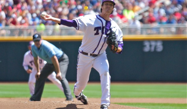 2014 CWS: TCU 3 Texas Tech 2