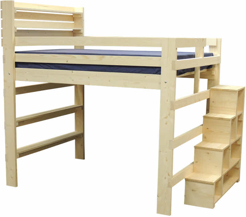 Loft Bed With Steps And Desk