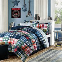 Blue And Green Bedding For Boys