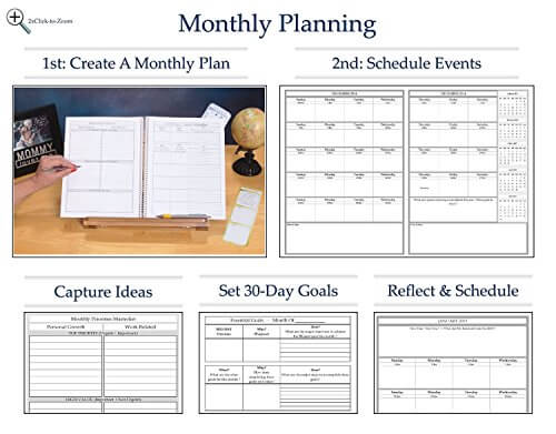 dentrodabiblia daily weekly monthly planner - daily monthly planners