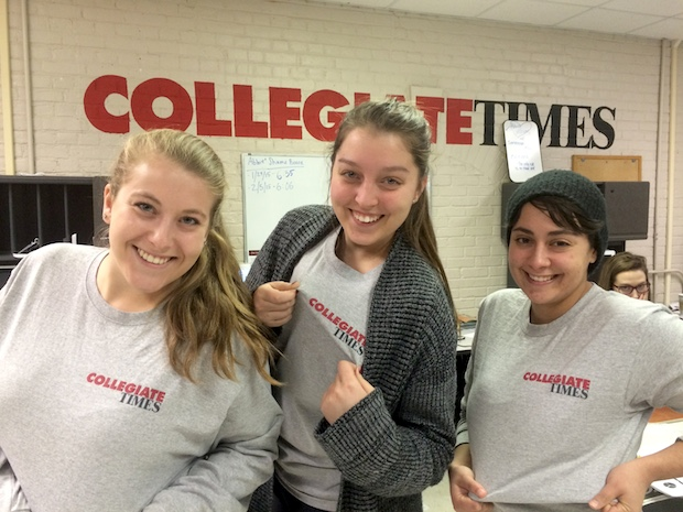 I most recently featured Corder on CMM in a photo she provided showing a trio of CT editors posing for a fun pic after coincidentally wearing the same CT shirt to the newsroom.
