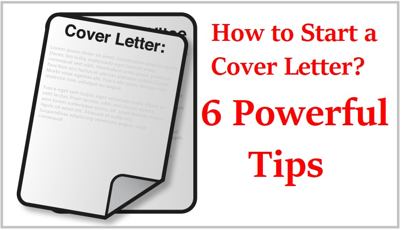 How to Start a Cover Letter with Powerful TipsCollegenp