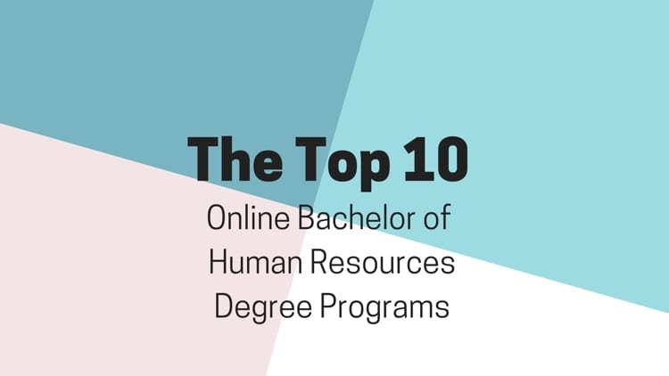 The Top 10 Online Bachelors of Human Resources Degree Programs - college degree planner