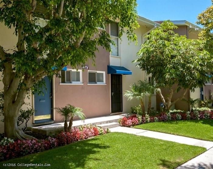 Patio Gardens apartments in Long Beach, California