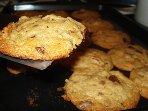 "Pretzel chocolate chip cookies, aka ""Sweet & Salties"""