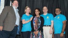 Dr. Neil Matkin, Dr. Mary McCray, Dr. Salena Brody, Dr. Jon Hardesty and Dr. Abe Johnson