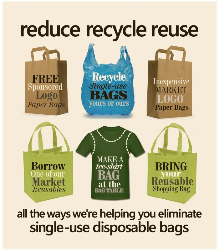 reduce recycle reuse tinted