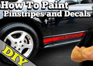 How To Paint Stripes on Car