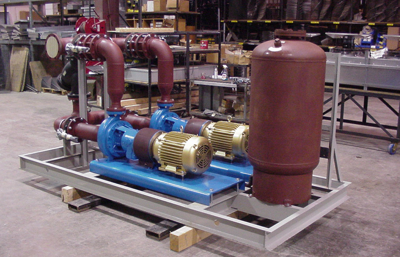 Modulair Pump Skids For Power Generation Glycol Cooling