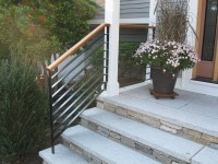 Colonial Iron Works - Iron Exterior Handrails
