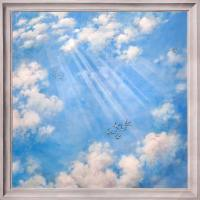 Ceiling painting / sky painting