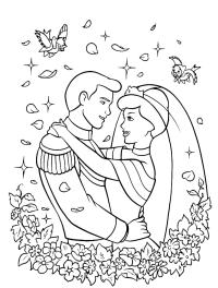 Cenerentola - Il Principe e Cenerentola finalmente sposi