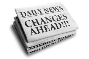 Daily news change