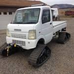 Trucks on Tracks! Snow-Bound Suzuki! Camoplast on Carry!