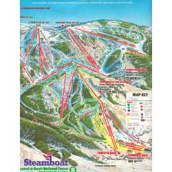 Steamboat Trail Map In Floor Okemo Trail Map Trail Map Master ...