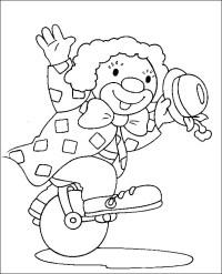 Pagliacci 7, Disegni per bambini da colorare
