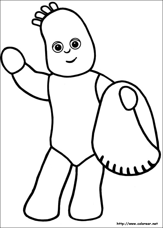 Free Coloring Pages Of Cbeebies Characters