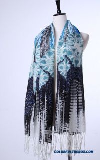 Cheap Cheap Closeout Printed Wool Scarf Women Shawl High