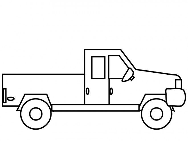 Coloriage Camionnette.Coloriage Camionnette Auto Electrical Wiring Diagram