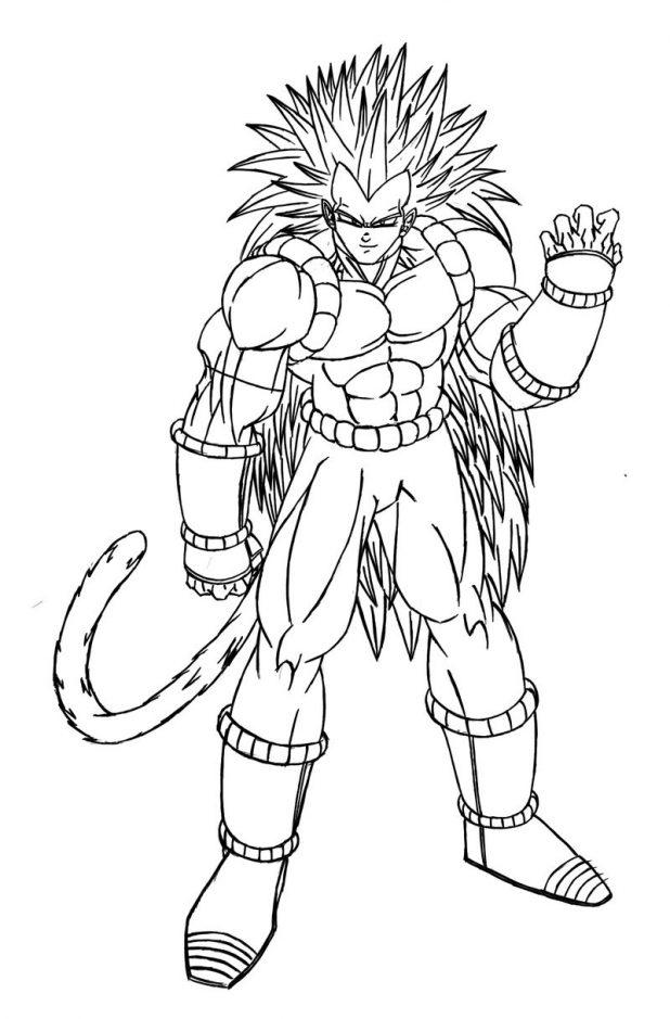 Dragon Ball Coloriage Dragon Ball Z Sangoku Ultra Instinct