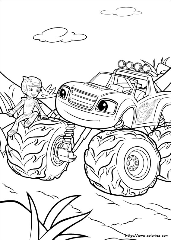Blaze And The Monster Machines Auto Electrical Wiring Diagram