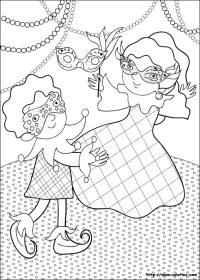 Coloriage Princesse Carnaval.Coloriage Bal Masque Coloriage Imprimer Princesse Au Bal Masqu