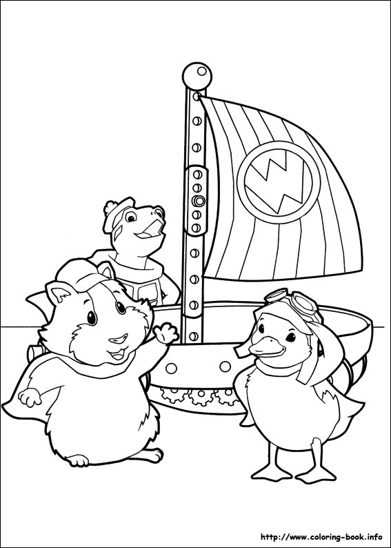 Wonder Pets coloring pages on Coloring-Bookinfo